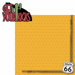 Carland: Get Your Kicks 2 Piece Laser Die Cut Kit