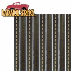 Carland: Radiator Springs 2 Piece Laser Die Cut Kit