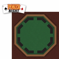 Casino: Poker Night 2 Piece Laser Die Cut Kit