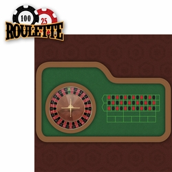 Casino: Roulette 2 Piece Laser Die Cut Kit