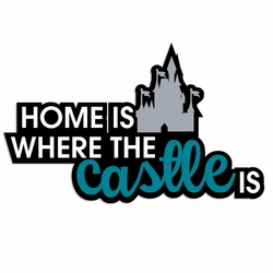 Castle Home Laser Die Cut
