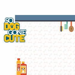 CatDog: So Doggone Cute 2 Piece Laser Die Cut Kit