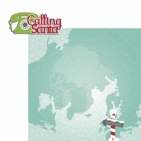 Celebrate Christmas: Calling Santa 2 Piece Laser Die Cut Kit