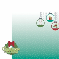 Celebrate Christmas: Christmas Morning 2 Piece Laser Die Cut Kit