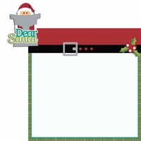 Celebrate Christmas: Dear Santa 2 Piece Laser Die Cut Kit