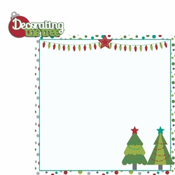 Celebrate Christmas: Decorate tree 2 Piece Laser Die Cut Kit
