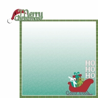 Celebrate Christmas: Merry Christmas 2 Piece Laser Die Cut Kit