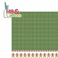 Celebrate Christmas: Milk and Cookies 2 Piece Laser Die Cut Kit