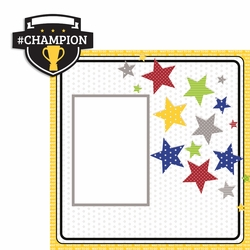Champion 2 Piece Laser Die Cut Kit