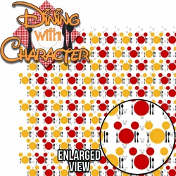 Character Dining: Dining With Character Laser Die Cut Kit