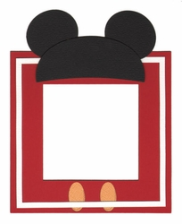 Character Photo Frame Laser Die Cut