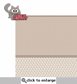 Check Meowt 2 Piece Laser Die Cut Kit
