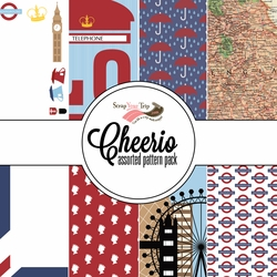 Cheerio Assorted 12 x 12 Paper Pack