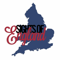 Cheerio: Sights of England Laser Die Cut