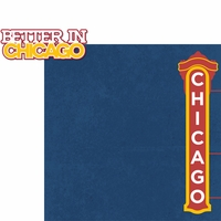 Chicago: Better In Chicago 2 Piece Laser Die Cut Kit
