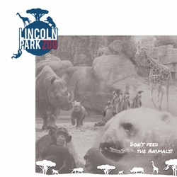 Chicago: Lincoln Park Zoo 2 Piece Laser Die Cut Kit