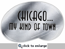Chicago...My Kind of Town Laser Die Cut