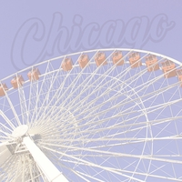 Chicago: Navy Pier 12 x 12 Paper