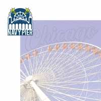 Chicago: Navy Pier 2 Piece Laser Die Cut Kit