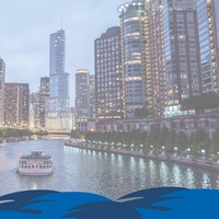 Chicago: River Tour 12 x 12 Paper