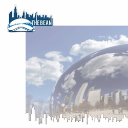 Chicago: The Bean 2 Piece Laser Die Cut Kit