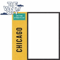 Chicago: The Windy City 2 Piece Laser Die Cut Kit