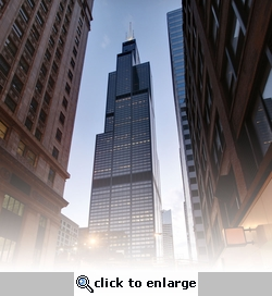 Chicago: Willis (Sears) Tower 12 x 12 Paper