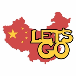 China: Let's Go Laser Die Cut