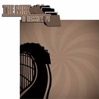 Chocolate Town: The Park 2 Piece Laser Die Cut Kit