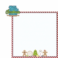 Christmas Baking: All you need 2 Piece Laser Die Cut Kit