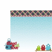 Christmas Baking: Baked Love 2 Piece Laser Die Cut Kit