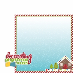 2SYT Christmas Baking: Gingerbread 2 Piece Laser Die Cut Kit