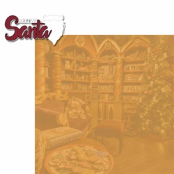 Christmas Traditions: Meeting Santa 2 Piece Laser Die Cut Kit