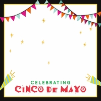 Cinco De Mayo Custom 12 x 12 Paper