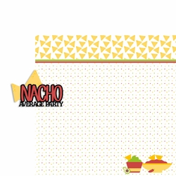 Cinco de Mayo: Nacho 2 Piece Laser Die Cut Kit