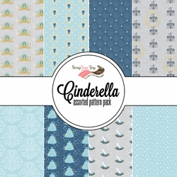 Cinderella Assorted 12 x 12 Paper Pack