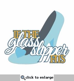 Cinderella: Glass Slipper Laser Die Cut