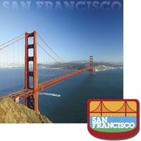 Cities: San Francisco 2 Piece Laser Die Cut Kit