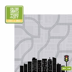City: In the City 2 Piece Laser Die Cut Kit
