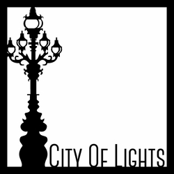 City of Lights 12 x 12 Overlay Laser Die Cut