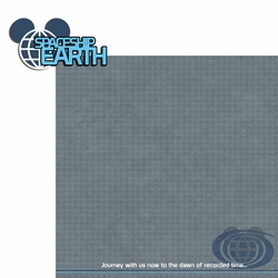 City of Tomorrow: Spaceship Earth  2 Piece Laser Die Cut Kit