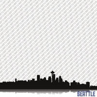 Cityscape: Seattle 12 x 12 Paper