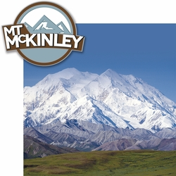 1SYT Climb Every Mountain: Mount McKinley 2 Piece Laser Die Cut Kit