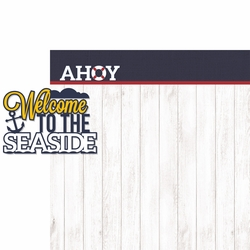 Coastal: Ahoy 2 Piece Laser Die Cut Kit