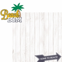 Coastal: Beach Bum 2 Piece Laser Die Cut Kit