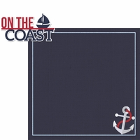 Coastal: On The Coast 2 Piece Laser Die Cut Kit