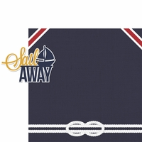 Coastal: Sail Away 2 Piece Laser Die Cut Kit