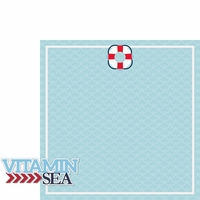 Coastal: Vitamin Sea 2 Piece Laser Die Cut Kit