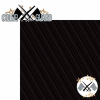Colorguard: Colorguard 2 Piece Laser Die Cut Kit