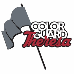 Colorguard: Custom Color Guard Laser Die Cut